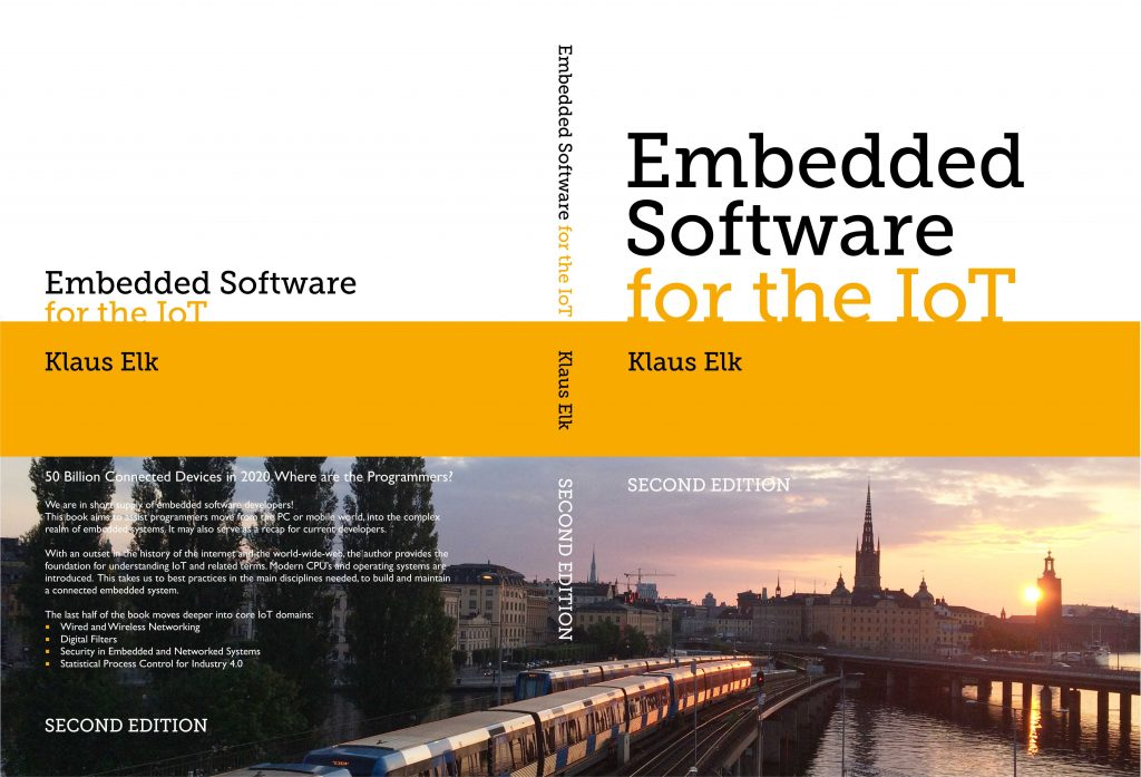 Embedded Software for the IoT - Second edition cover